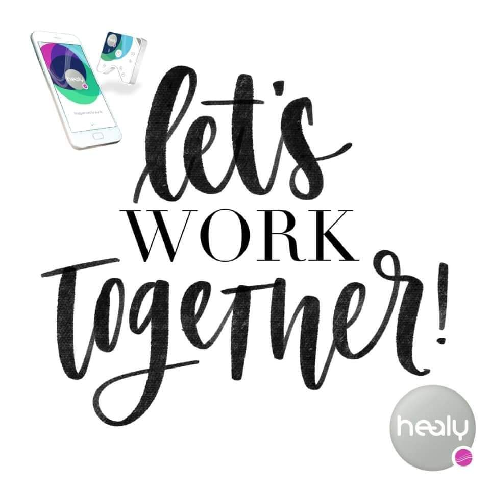 Healy let's work together